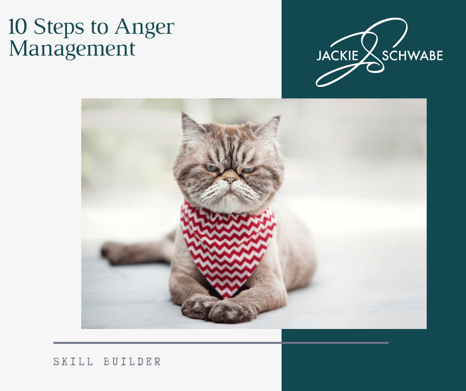 Anger Management – 10 Steps Dealing Better