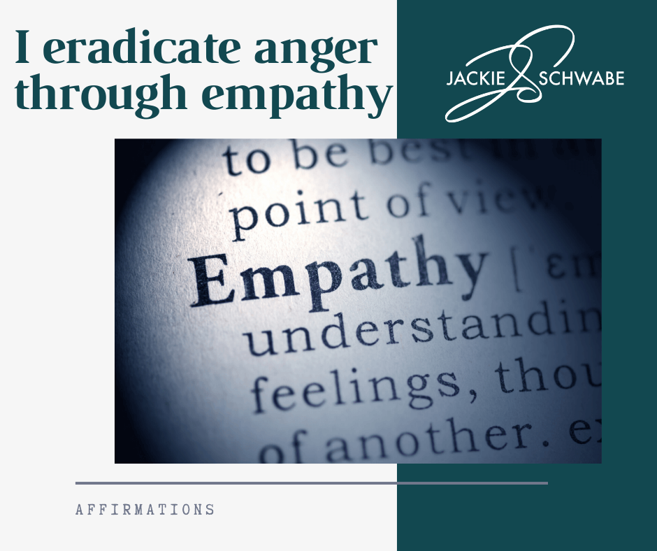 Empathy – I Eradicate Anger Through Empathy