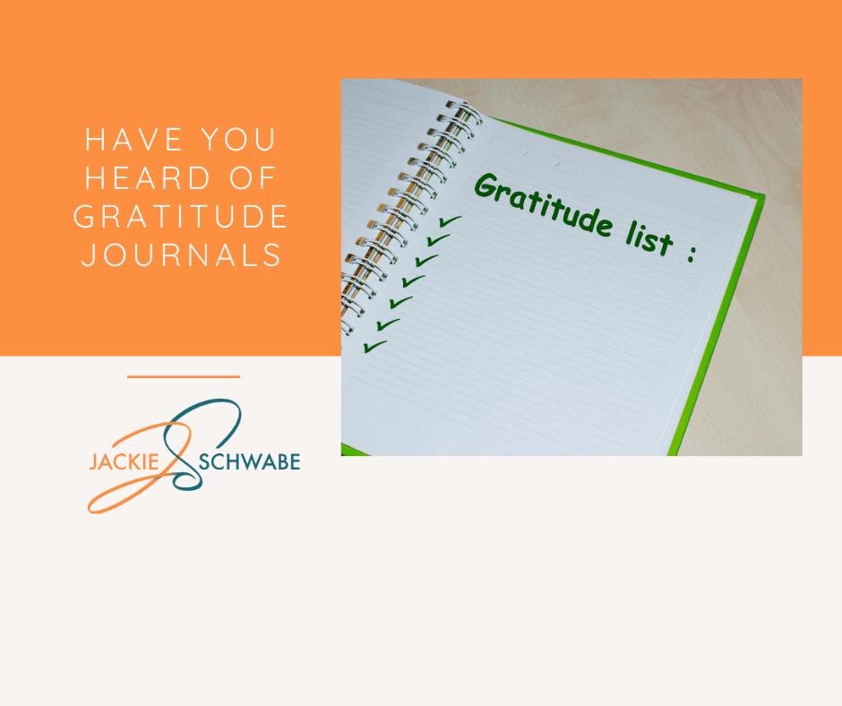 Have You Heard of Gratitude Journals