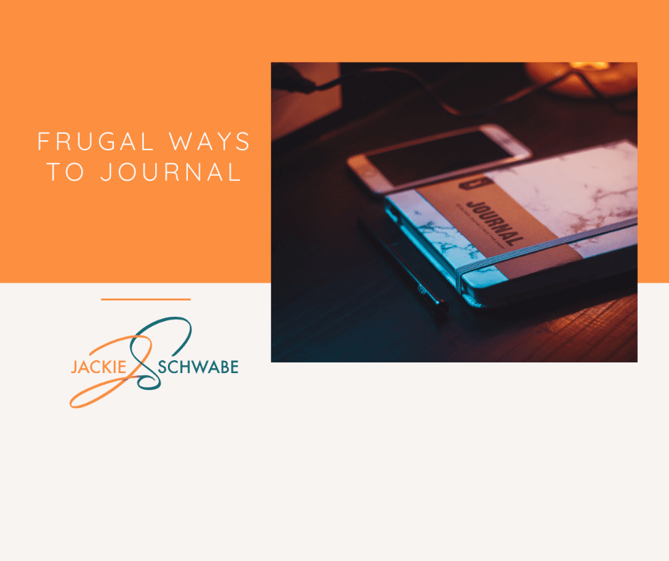 Frugal Ways to Journal