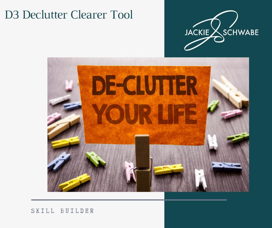D3 Declutter Clearer Tool