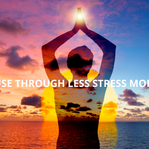 PRESS PAUSE THROUGH LESS STRESS MORE BREATH